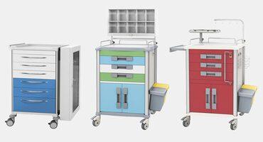 Rollwagen für Krankenhaus und Praxis