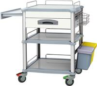 Treatment Trolley XCSZL234TA-WD / White
